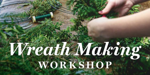 Plimoth Workshops: Wreath Making