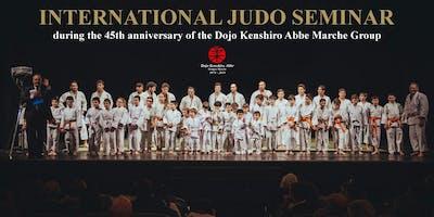 International Judo Seminar 2019 with the Judo Master Katsuhiko Kashiwazaki 8th Dan
