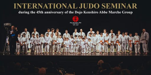 International Judo Seminar 2019 with the Judo Master Katsuhiko Kashiwazaki 8th Dan