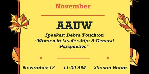 AAUW Stetson University Branch Meeting