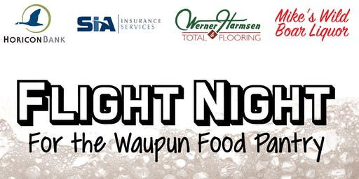 Flight Night For the Food Pantry