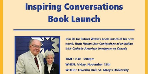 Inspiring Conversations Book Launch Featuring Patrick Walsh