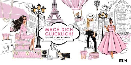 Mach Dich Glücklich – Mädchenflohmarkt im Mach1