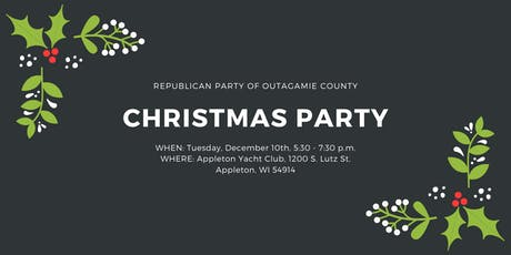 2019 Republican Party of Outagamie County Christmas Party tickets