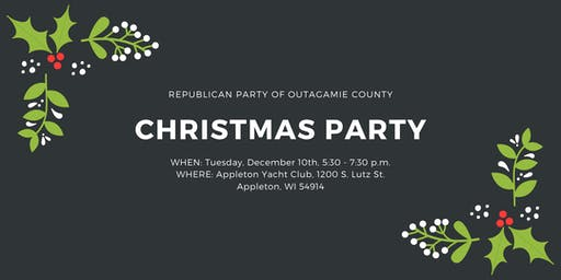 2019 Republican Party of Outagamie County Christmas Party