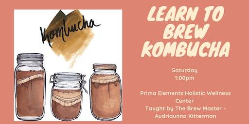Learn How To Brew Kombucha