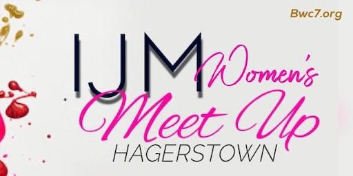IJM Women's Meet Up - Hagerstown