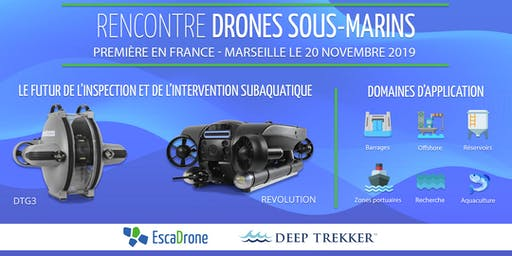 Rencontre drones sous-marins - Outil subaquatique professionnel de demain