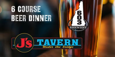 603 Brewery Beer Dinner at J's Tavern Under the Bridge