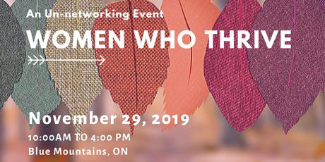 Women Who Thrive - 2020 Vision tickets