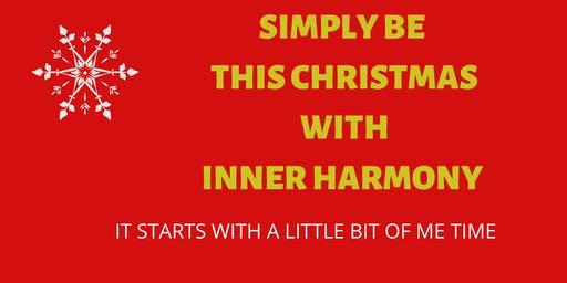 Inner Harmony In Time For Christmas
