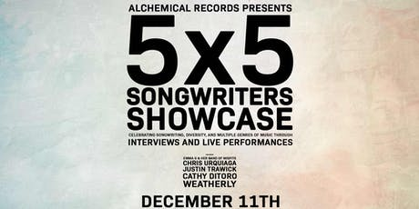 The 5x5 Songwriters Showcase: The Best of Washington DC Songwriting tickets