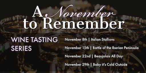 Wine Tasting Series