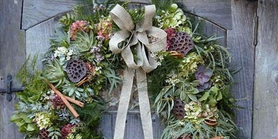 WREATH MAKING WITH THE LITTLE BOTANICAL AND FLORAL ARTISAN — 14 DEC