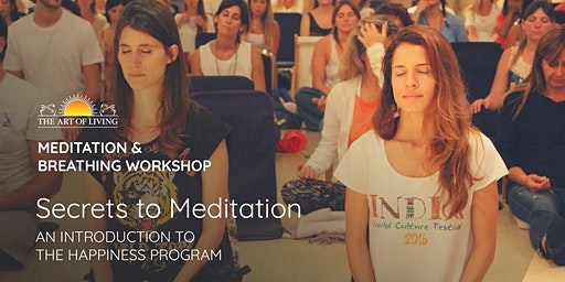 Secrets to Meditation in Bedford, NH - An Introduction to The Happiness Program