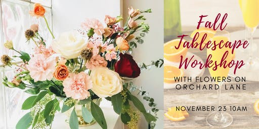 Fall Tablescape Workshop