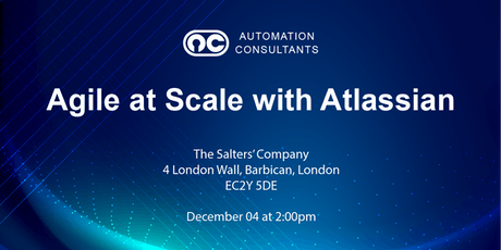Agile at Scale with Atlassian tickets