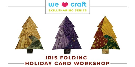 Iris Folding Holiday Card Making Workshop