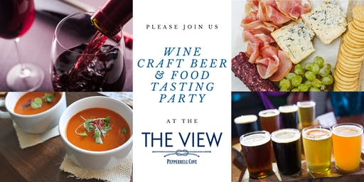 Wine, Beer, & Food Tasting Party at The View