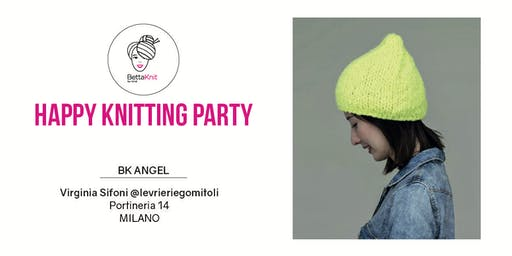 Knitting Party - The Fluffy Hat - MILANO