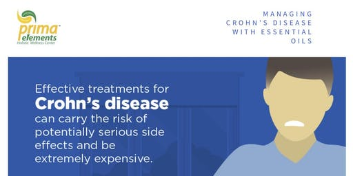 Manage Crohn's Disease with Essential Oils