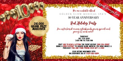 10 Year Anniversary Patient Appreciation Event at Golden Glow Medical Spa