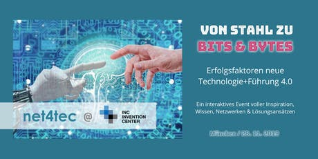 Von Stahl zu Bits&Bytes: Erfolgsfaktoren neue Technologie+Führung 4.0 tickets