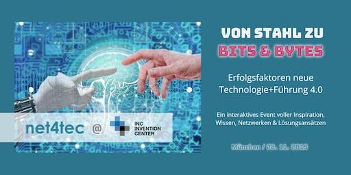 Von Stahl zu Bits&Bytes: Erfolgsfaktoren neue Technologie+Führung 4.0