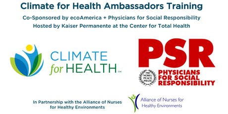 Climate for Health Ambassadors Training tickets