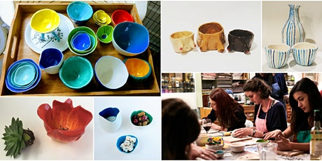Make Your Own Handmade Pottery - Pinch Pots! 2-Part Session tickets