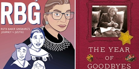 Author Debbie Levy Discusses New RBG Graphic Novel and The Year of Goodbyes tickets