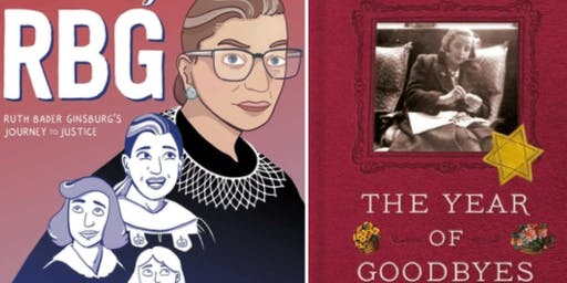 Author Debbie Levy Discusses New RBG Graphic Novel and The Year of Goodbyes