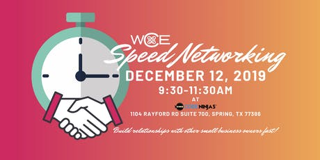 WCE Speed Networking Event tickets