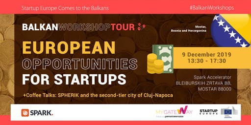 How can startups benefit from EU funds? (Mostar, BiH)