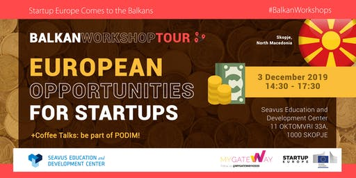 How can startups benefit from EU funds? (Skopje)