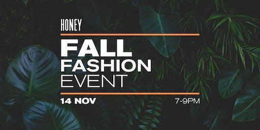 Honey Fall Fashion Event