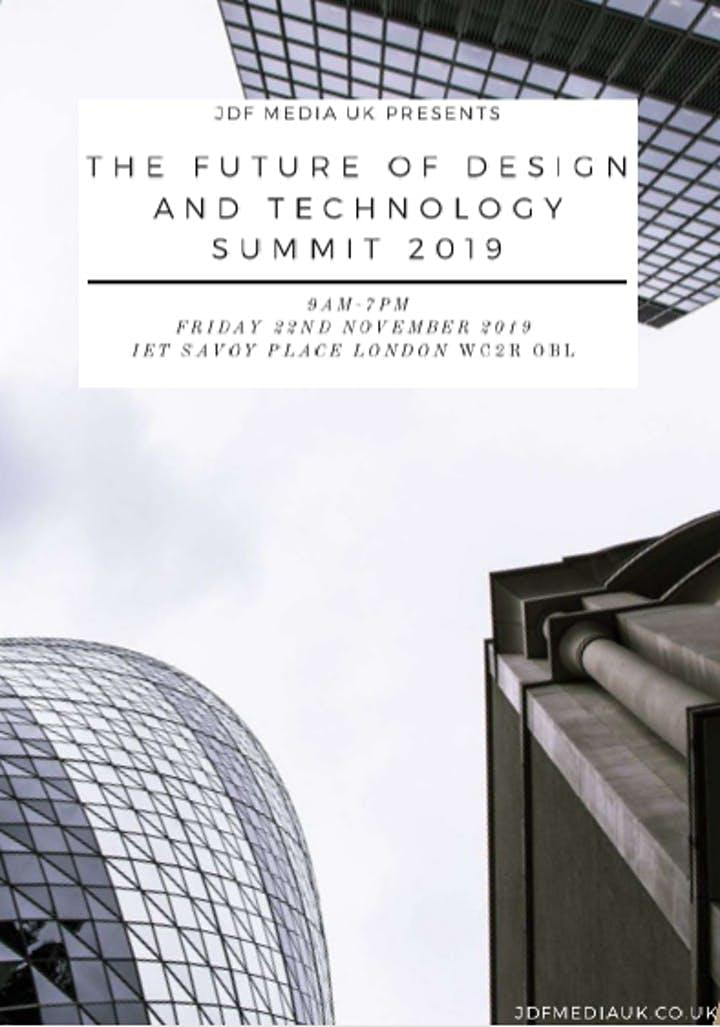 The Future of Design and Technology Summit 2019 image