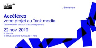 Accélérez votre projet au Tank media