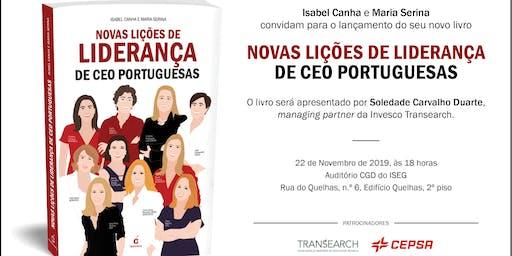 Lançamento do livro Novas Lições de Liderança de CEO Portuguesas