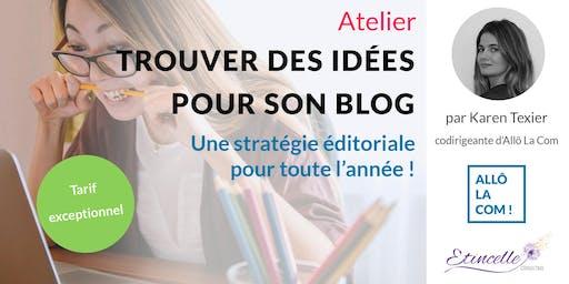 Trouver des idées pour son blog !