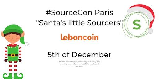 #SourceCon Paris - Santa's little Sourcers