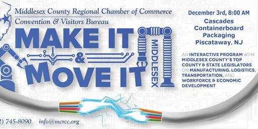 Make It & Move It Middlesex: Featuring The Middlesex County Freeholders
