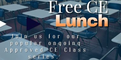 Realtor Success Series - Approved Free CE Lunch