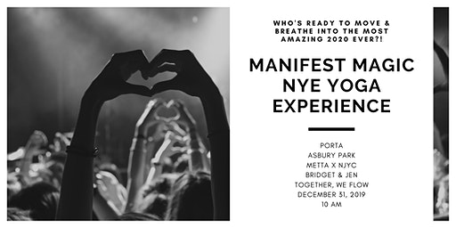 New Year's Eve Yoga Experience with Bridget & Jen