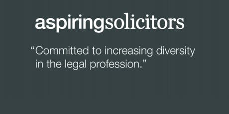 Aspiring Solicitors Commercial Awareness Workshop tickets