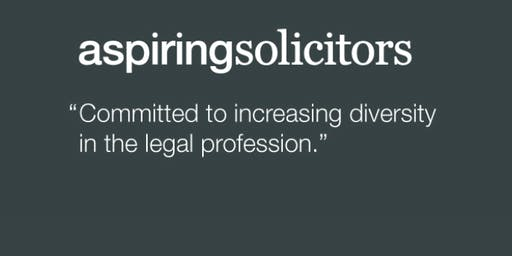 Aspiring Solicitors Commercial Awareness Workshop