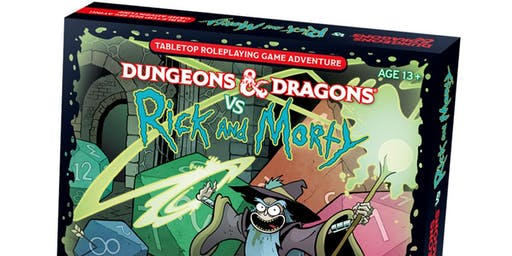 Dungeons & Dragons vs. Rick and Morty LIVE!