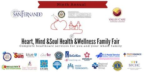 Heart, Mind & Soul Health & Wellness Family Fair tickets