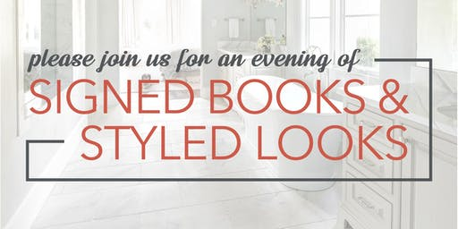 Signed Books & Styled Looks