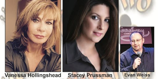 Comedy Showcase with Vanessa Hollingshead & Stacey Prussman